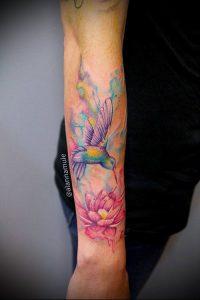 фото Тату в стиле акварель (Watercolor) (значение) - пример рисунка - 106 tatufoto.com