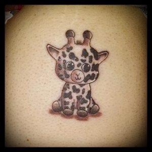 фото тату ЖИРАФ (Tattoo giraffe) (значение) - пример рисунка - 024 tatufoto.com