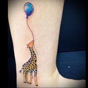 фото тату ЖИРАФ (Tattoo giraffe) (значение) - пример рисунка - 025 tatufoto.com