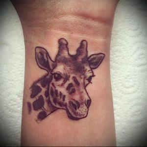 фото тату ЖИРАФ (Tattoo giraffe) (значение) - пример рисунка - 026 tatufoto.com