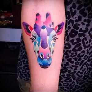 фото тату ЖИРАФ (Tattoo giraffe) (значение) - пример рисунка - 043 tatufoto.com