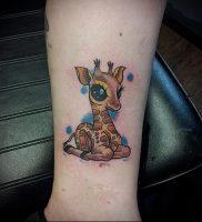 фото тату ЖИРАФ (Tattoo giraffe) (значение) — пример рисунка — 045 tatufoto.com