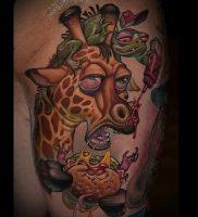 фото тату ЖИРАФ (Tattoo giraffe) (значение) — пример рисунка — 053 tatufoto.com