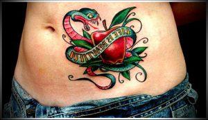 фото тату С ЯБЛОКОМ (Tattoo apple photo) (значение) - пример рисунка - 013 tatufoto.com