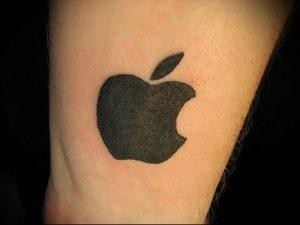 фото тату С ЯБЛОКОМ (Tattoo apple photo) (значение) - пример рисунка - 022 tatufoto.com