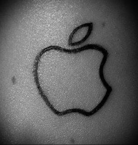 фото тату С ЯБЛОКОМ (Tattoo apple photo) (значение) - пример рисунка - 023 tatufoto.com