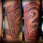фото Тату на шраме, рубце, следе (tattoo) (значение) - пример рисунка - 013 tatufoto.com