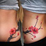 фото Тату на шраме, рубце, следе (tattoo) (значение) - пример рисунка - 020 tatufoto.com