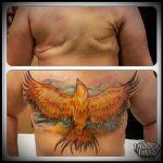фото Тату на шраме, рубце, следе (tattoo) (значение) - пример рисунка - 023 tatufoto.com
