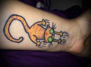 фото Тату на шраме, рубце, следе (tattoo) (значение) - пример рисунка - 027 tatufoto.com