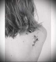 Фото татуировки чертополох — пример рисунка — 26052017 — пример — 006 Tattoo thistles