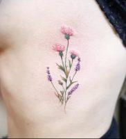 Фото татуировки чертополох — пример рисунка — 26052017 — пример — 007 Tattoo thistles