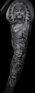 Фото тату Будда - 24052017 - пример - 002 Tattoo Buddha