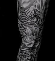 Фото тату Будда — 24052017 — пример — 002 Tattoo Buddha