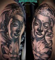 Фото тату Будда — 24052017 — пример — 003 Tattoo Buddha