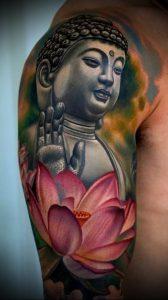 Фото тату Будда - 24052017 - пример - 004 Tattoo Buddha