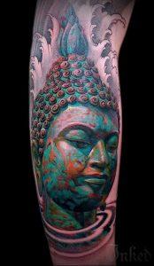 Фото тату Будда - 24052017 - пример - 005 Tattoo Buddha