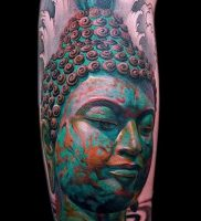 Фото тату Будда — 24052017 — пример — 005 Tattoo Buddha