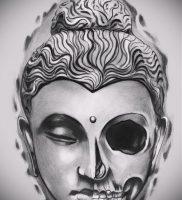 Фото тату Будда — 24052017 — пример — 007 Tattoo Buddha