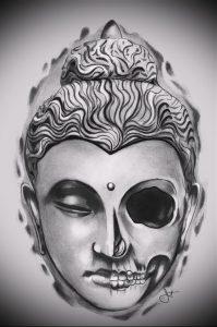 Фото тату Будда - 24052017 - пример - 007 Tattoo Buddha