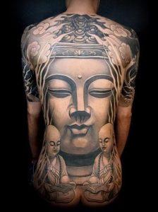 Фото тату Будда - 24052017 - пример - 009 Tattoo Buddha