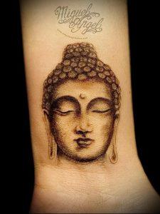 Фото тату Будда - 24052017 - пример - 010 Tattoo Buddha