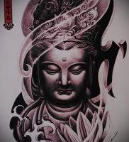 Фото тату Будда — 24052017 — пример — 011 Tattoo Buddha