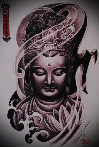 Фото тату Будда - 24052017 - пример - 011 Tattoo Buddha