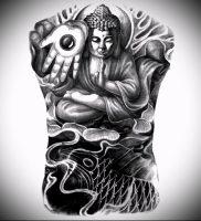 Фото тату Будда — 24052017 — пример — 012 Tattoo Buddha