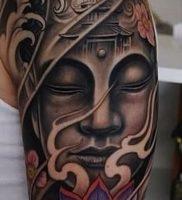 Фото тату Будда — 24052017 — пример — 013 Tattoo Buddha