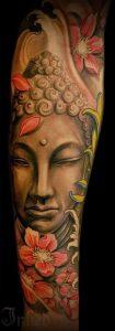Фото тату Будда - 24052017 - пример - 014 Tattoo Buddha