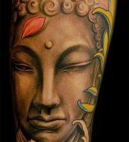 Фото тату Будда — 24052017 — пример — 014 Tattoo Buddha