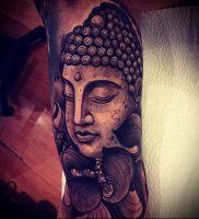Фото тату Будда — 24052017 — пример — 017 Tattoo Buddha