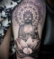 Фото тату Будда — 24052017 — пример — 018 Tattoo Buddha