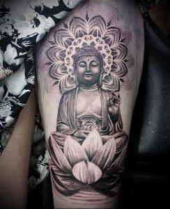 Фото тату Будда - 24052017 - пример - 018 Tattoo Buddha