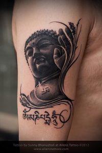 Фото тату Будда - 24052017 - пример - 024 Tattoo Buddha