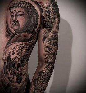 Фото тату Будда - 24052017 - пример - 026 Tattoo Buddha