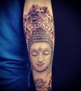 Фото тату Будда - 24052017 - пример - 028 Tattoo Buddha