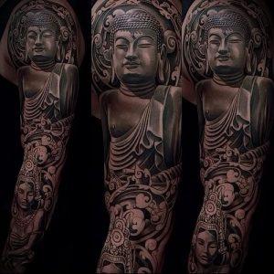 Фото тату Будда - 24052017 - пример - 030 Tattoo Buddha