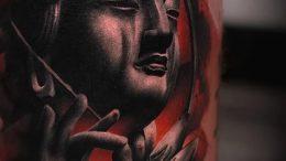 Фото тату Будда - 24052017 - пример - 031 Tattoo Buddha