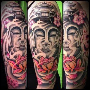 Фото тату Будда - 24052017 - пример - 032 Tattoo Buddha