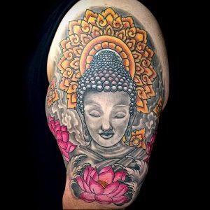 Фото тату Будда - 24052017 - пример - 034 Tattoo Buddha