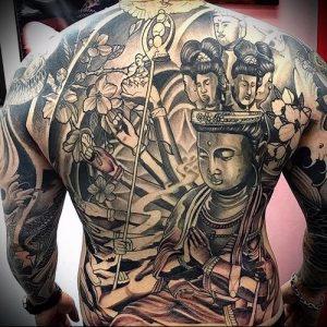 Фото тату Будда - 24052017 - пример - 035 Tattoo Buddha