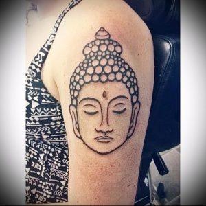 Фото тату Будда - 24052017 - пример - 047 Tattoo Buddha