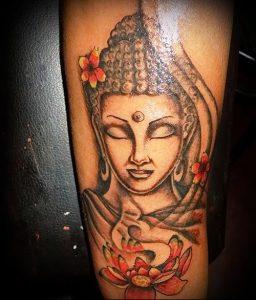 Фото тату Будда - 24052017 - пример - 050 Tattoo Buddha