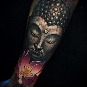 Фото тату Будда - 24052017 - пример - 052 Tattoo Buddha