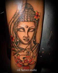 Фото тату Будда - 24052017 - пример - 053 Tattoo Buddha