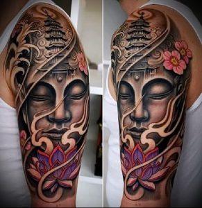 Фото тату Будда - 24052017 - пример - 055 Tattoo Buddha