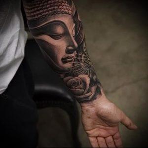 Фото тату Будда - 24052017 - пример - 056 Tattoo Buddha
