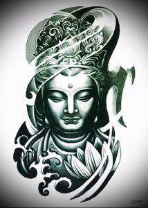 Фото тату Будда - 24052017 - пример - 057 Tattoo Buddha
